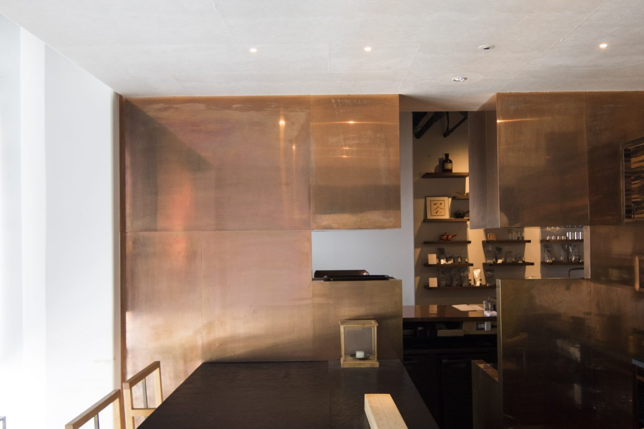 A modern tea room in tokyo championing the craftsmanship of japanese tea